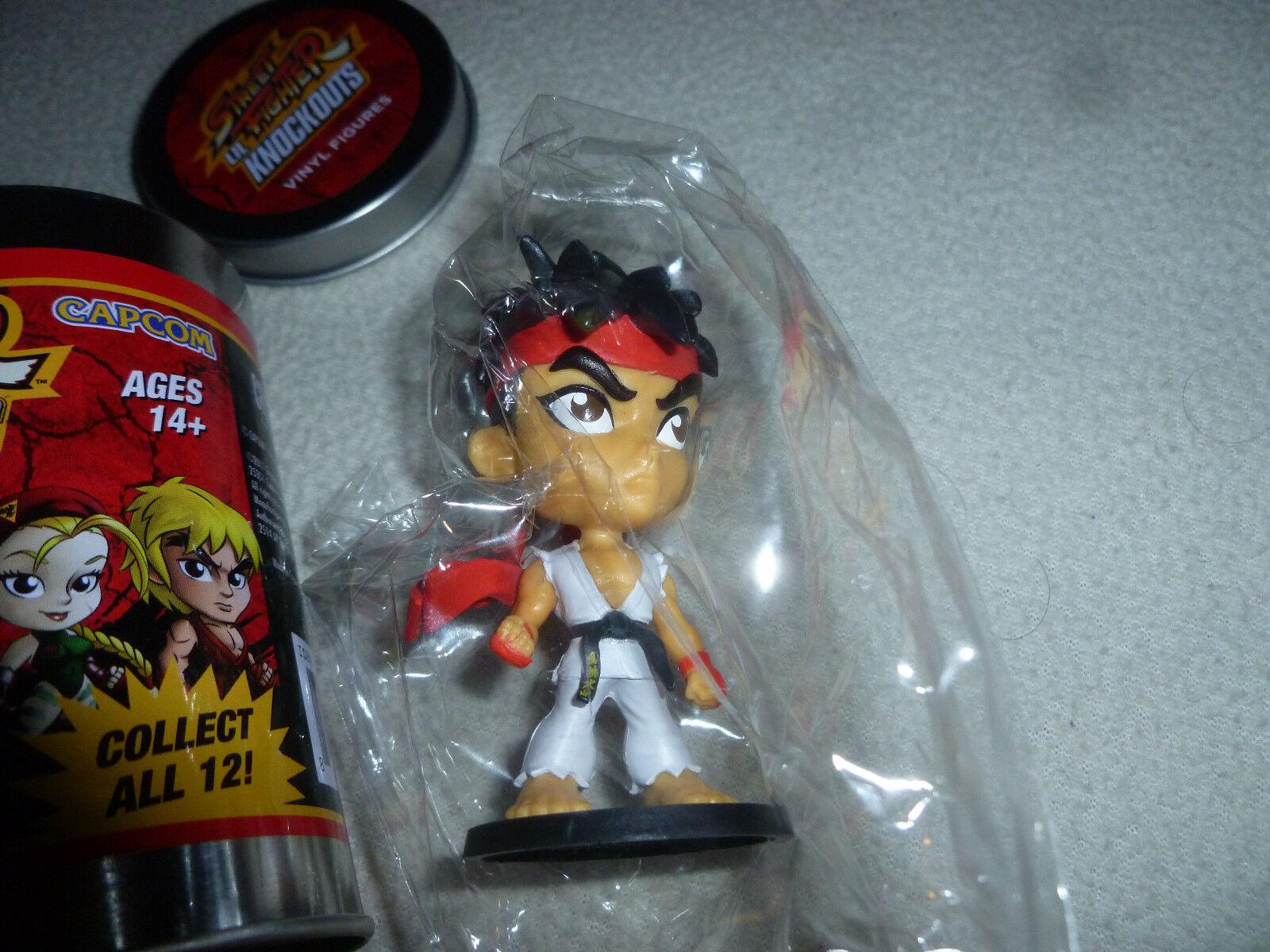 Ryu Street Fighter Lil Knockouts 3-Inch Mini-Figure