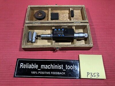 Mitutoyo Intrimik Bore Holtest Inside Micrometer .5 To .8 In W1 Ring P353