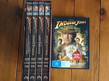 Indiana Jones DVDs Newcastle Newcastle Area Preview
