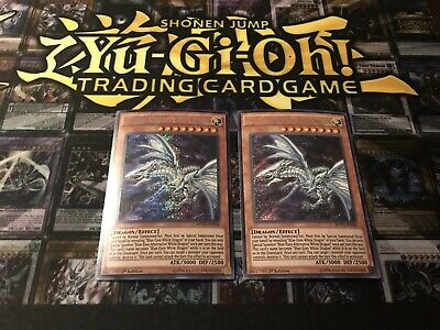 X2 Blue-Eyes Alternative White Dragon MVP1-EN046 Ultra Rare Mint 1st Ed