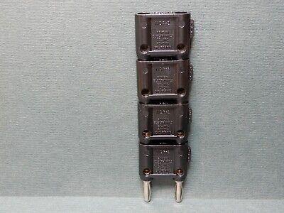 Pomona Mdp-s Dual Banana Plugs Black Quantity 4 Nos