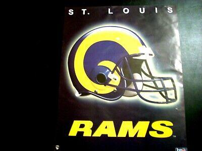 ST. LOUIS RAMS  Helmet NFL Football 16x20 Poster Louis Rams Football Helmet