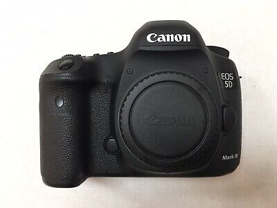 USED Canon EOS 5D Mark III Digital SLR Camera - Black (Body + Accessories)
