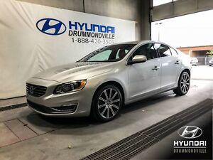 VOLVO S60 T6 AWD PREMIER PLUS + TOIT + CUIR + MAGS + WOW !