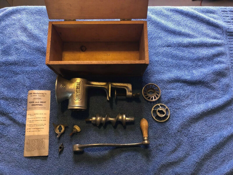 ANTIQUE UNIVERSAL NO 3 FOOD CHOPPER MEAT GRINDER