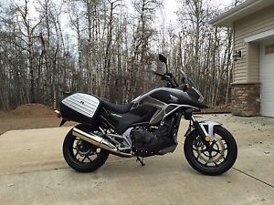 New 2015 NC750X Touring package