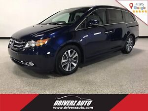2016 Honda Odyssey Touring CLEAN CARPROOF, LOADED TOURING, RE...