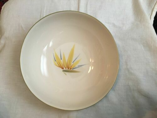 Winfield China California Pottery Bird of Paradise Vegetable Bowl PERFECT