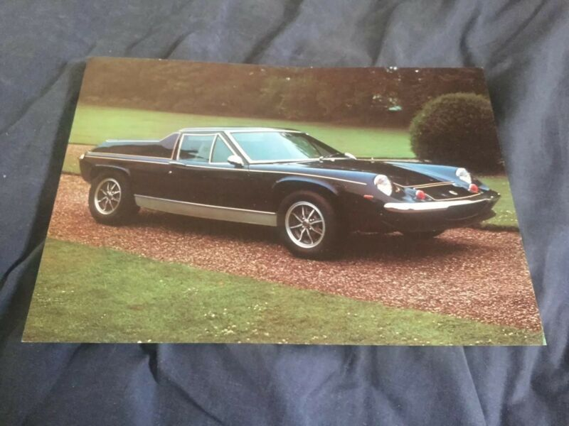 1970 1971 Lotus Europa Special Color Brochure Prospekt