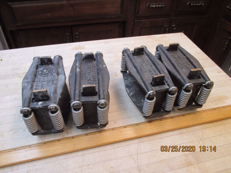 Lot Of 4 Dental lab  kerr equa lock compress, Denture Flask Press