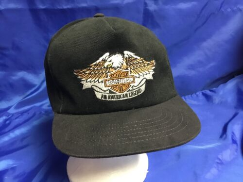 GENUINE HARLEY DAVIDSON Cap Hat AMERICAN LEGEND Embroidered Logo BRAND NEW