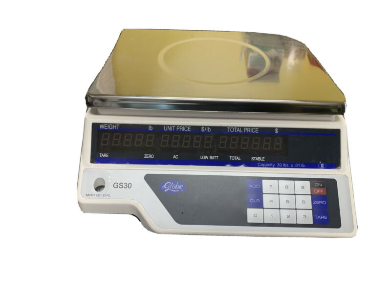 Globe price computing scale model GS30