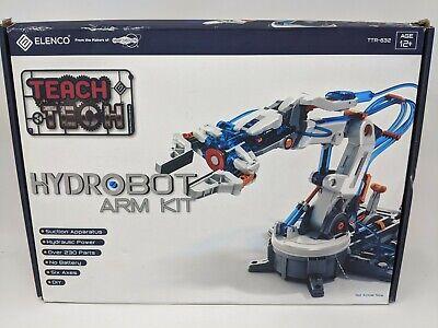 Elenco Teach Tech Hydrobot Hydraulic Arm Kit Read