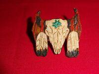 Nemesis Now FLORAL WILDERNESS Large 44.5cm Bison Skull Wall Hanging Ornament