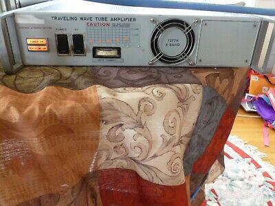 Hughes 1277h03r064 Twt Amplifier 8.0 To 12.4 Ghz 20 Watts 30 Db Minimum Gain