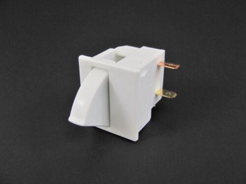 1x Refrigerator Door Light Switch - White - Philmore 30-17065 - GE LG Subzero