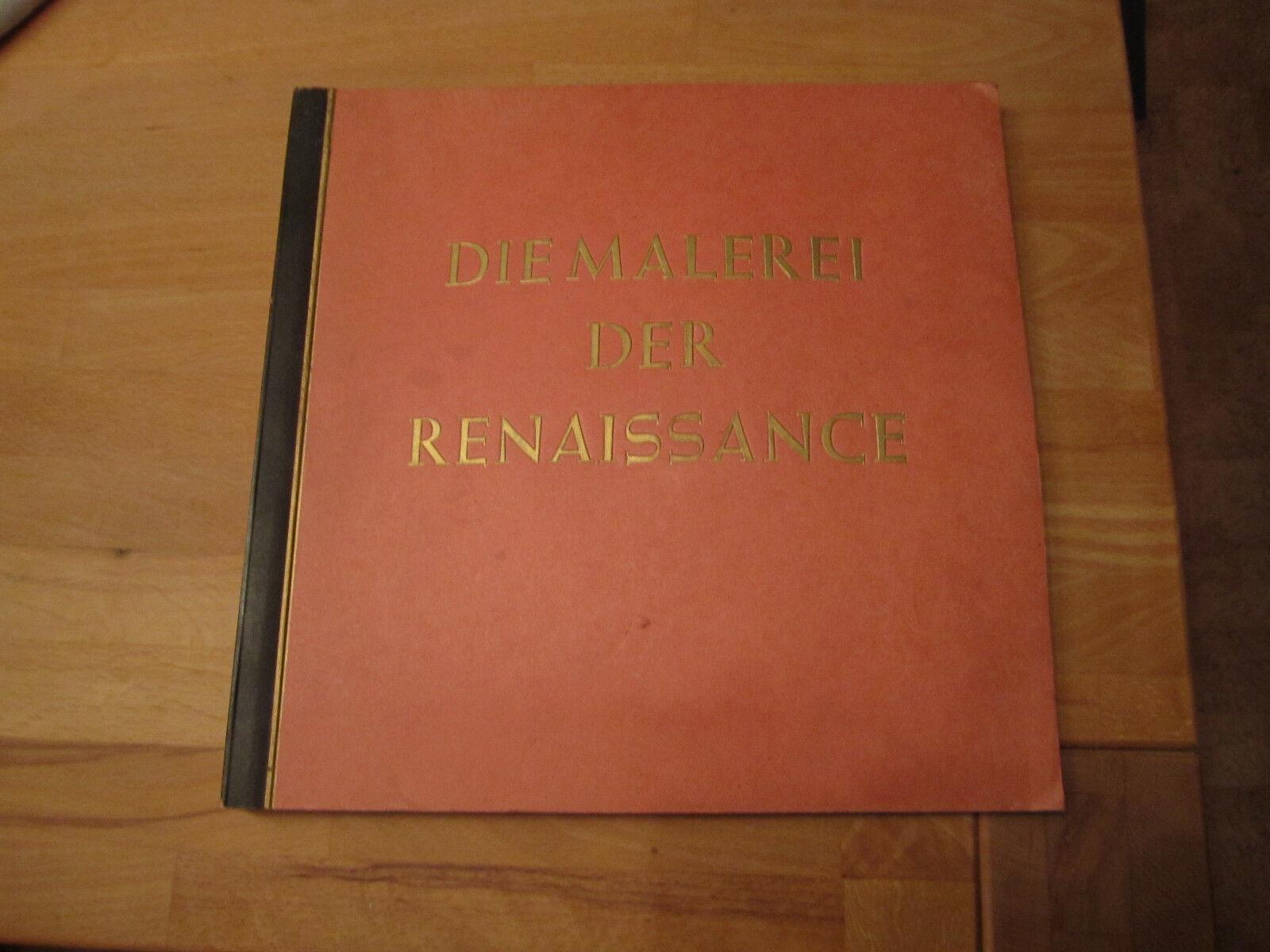 Sammelbilderalbum Die Maler des Renaissance Komplett!