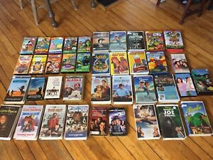 Classic Kid VHS Tapes