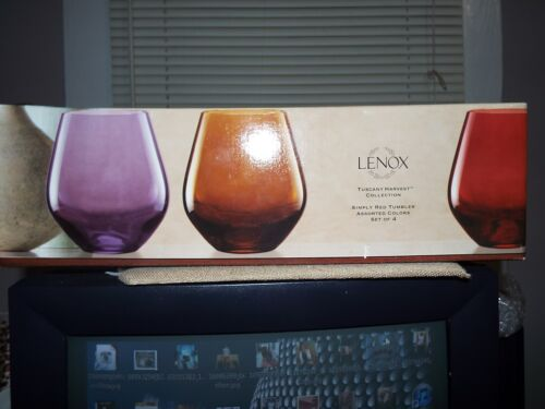 Lenox Tuscany Harvest Collection Tumblers
