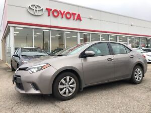 2015 Toyota Corolla LE, Heated Seats, Back Up Camera, Trade In