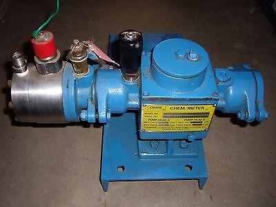 Crane Chemmeter  Model 2401-72hm-dp A1
