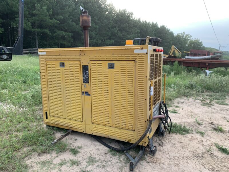 Caterpillar Hydraulic Power Unit 3208 Diesel Triple Variable Displacement Pumps