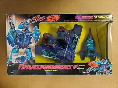 1993 Transformers G2 Dreadwing Smokescreen Deception Great Condition MIB