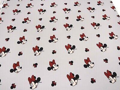 Stoff Baumwolle Jersey Disney Micky Minni Maus Pünktchen flieder bunt Kinderstof