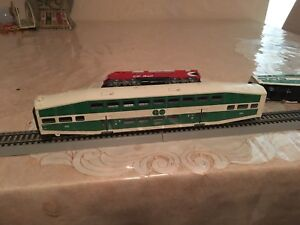 Go train model train cars