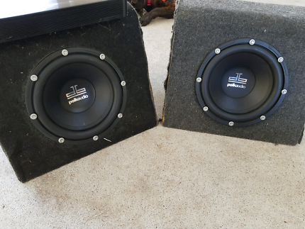 Polk audio sub and amp package