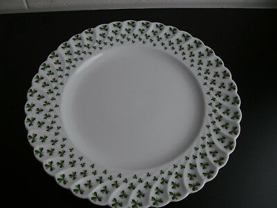 Speiseteller Haviland Trefle vert Kleeblatt Durchmesser 24 cm