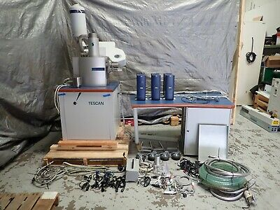Tescan Vega Ii Ts 5136 Xm Scanning Electron Microscope Sem Oxford Inca Extras
