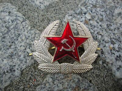 UdSSR Rote Armee Uniform Aufnäher Roter Stern NVA DDR USSR Ecusson Patch