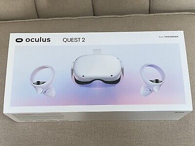 Oculus Quest 2 64GB VR Headset - White  (Barely Used)