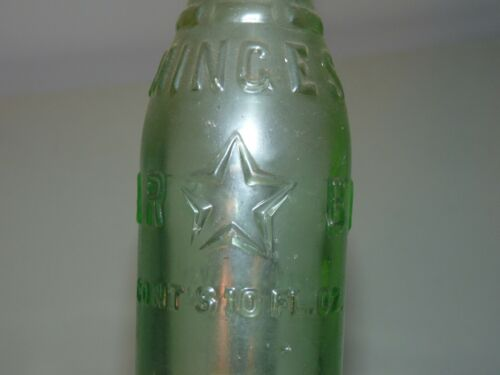 Minges Bros. Big Star Orange Crush N.C. Gastonia North Carolina Soda Bottle
