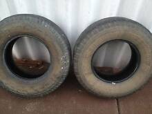 2 tyres to suit 4 x 4 LT 265 x 75 x R16 $ 10 each Swan View Swan Area Preview