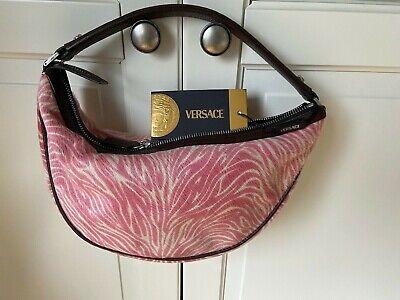 Original Versace Tasche Damentasche Bag Ponyfell Leder MEDUSA neu new