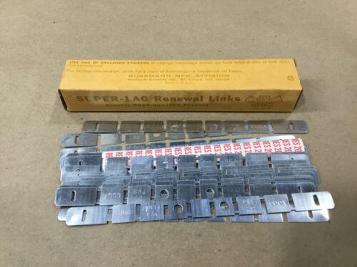 Box Of 20 Bussmann Buss Super-Lag Renewal Links LKS-20 600V #16H54RM