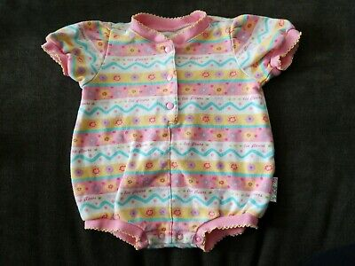 Funky Infant Clothes - CUTE VINTAGE GYMBOREE LAYETTE NEWBORN INFANT BABY GIRL FUN & FUNKY FLOWER OUTFIT