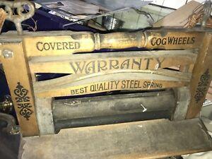 Antique wash board in original condition.