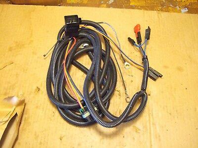 JOHN DEERE F680 ZTRACK GRASS CATCHER SYSTEM WIRING HARNESS TCA12254 AM128966