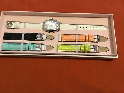 Invicta Women's Baby Lupah New Gen Quartz Watch w/ 5-Piece Leather Strap Set