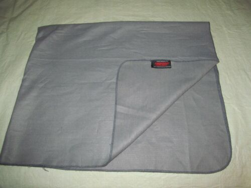 vintage PIEDMONT AIRLINES cabin blanket CHATHAM grey travel couch throw