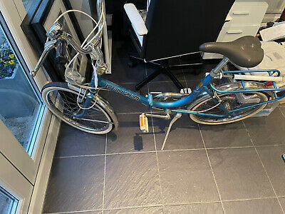 Bike Folding Firenze CINZIA Blue - Great Condition