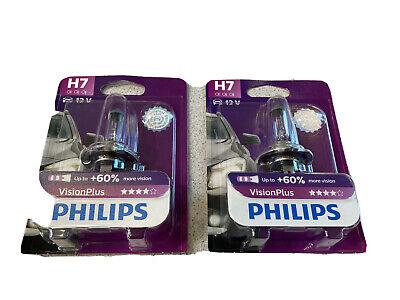 Glühlampe PHILIPS 12972VPB1 VisionPlus H7 VW Audi BMW Mercedes usw.