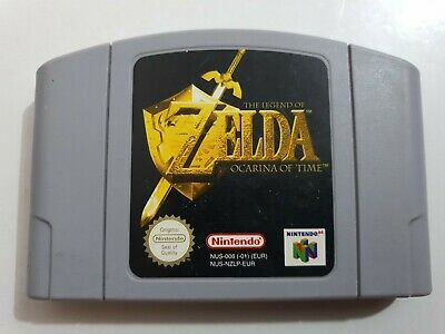 ZELDA OCARINA OF TIME PAL EUR Nintendo 64 N64 SOLO CARTUCHO LEER