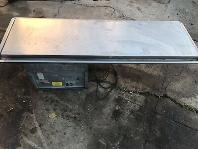 Atlas Metal Wf-5 Marble Top Ice Cream Serving Counter