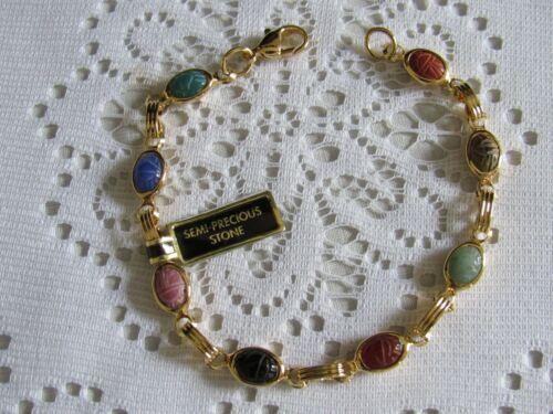Gorgeous Genuine Scarab Bracelet