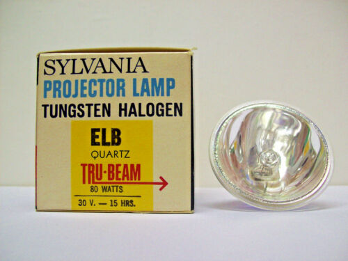 ELB Projector Projection Lamp Bulb 80W 30V Sylvania Brand *AVG. 15-HOUR LAMP*