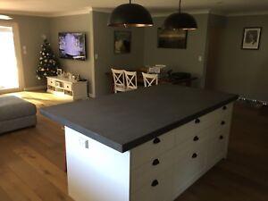 Custom Concrete Kitchens